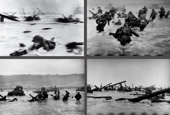 Robert Capa's D-Day photos, 6 June 1944