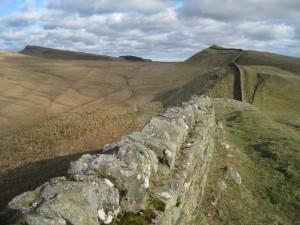 Hadrian's Wall near Housesteads