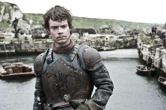 Alfie Allen as Theon Greyjoy in HBO's 'A Clash of Kings', broadcast on Sky Atlantic © HBO