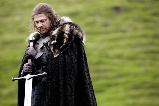 Sean Bean as Lord Eddard Stark in HBO's 'Game of Thrones', broadcast on Sky Atlantic © HBO