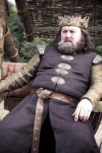 Mark Addy as King Robert Baratheon in HBO's 'Game of Thrones', broadcast on Sky Atlantic © HBO