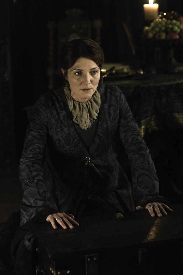 Michelle Fairley as Lady Catelyn Stark in HBO's 'A Clash of Kings', broadcast on Sky Atlantic © HBO