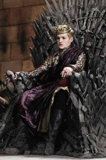 Photo of Jack Gleeson as King Joffrey Baratheon in HBO's 'Game of Thrones' broadcast on Sky Atlantic © HBO
