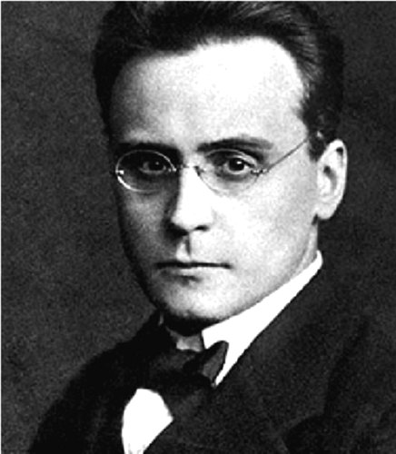 Black and white photo of Anton Webern