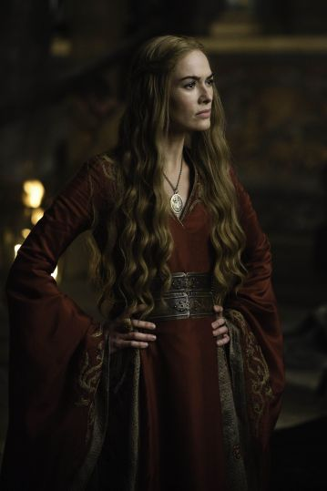 Lena Headey as Queen Cersei in HBO's 'A Clash of Kings', broadcast on Sky Atlantic © HBO