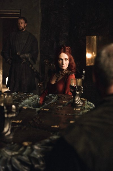 Photo of Carice van Houten as the priestess Melisandre in HBO's 'Game of Thrones' broadcast on Sky Atlantic © HBO