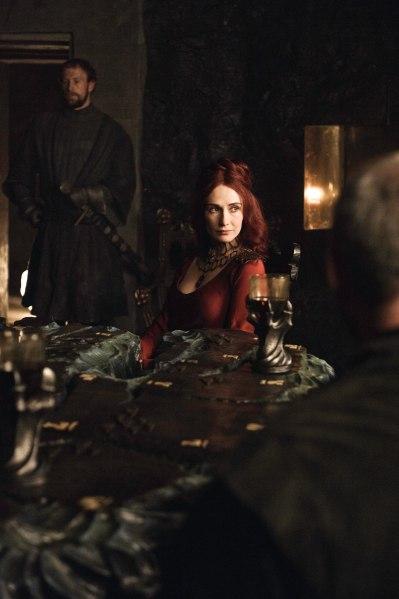 Photo of Carice van Houten as the priestess Melisandre in HBO's 'Game of Thrones' broadcast on Sky Atlantic © HBO