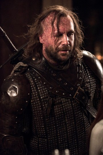 Photo of Rory McCann as Sandor Clegane, nicknamed 'The Hound', in HBO's 'Game of Thrones' broadcast on Sky Atlantic © HBO