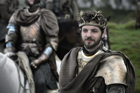 Photo of Gethin Anthony as the ill-fated Lord Renly Baratheon in HBO's 'Game of Thrones' broadcast on Sky Atlantic © HBO