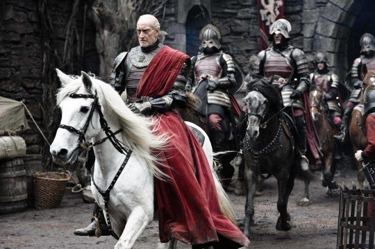 Charles Dance as the masterful Lord Tywin Lannister in HBO's 'Game of Thrones' broadcast on Sky Atlantic © HBO