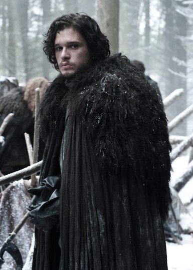 Photo of Kit Harington as the bastard Jon Snow, raised to power as Lord of the Night's Watch, in HBO's 'Game of Thrones' broadcast on Sky Atlantic © HBO