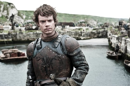 Photo of Alfie Allen as the very ill-fated Theon Greyjoy in HBO's 'Game of Thrones' broadcast on Sky Atlantic © HBO