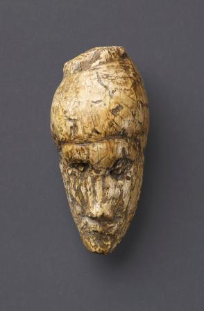 The oldest known portrait of a woman sculpted from mammoth ivory found at Dolni Vestonice, Moravia, Czech Republic. c.26,000 years old. Moravian Museum, Anthropos Institute
