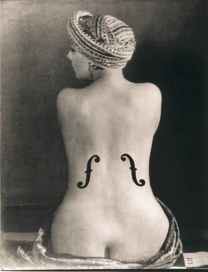 Le Violon d'Ingres, 1924 by Man Ray Museum Ludwig Cologne, Photography Collections (Collection Gruber) © Man Ray Trust / ADAGP © Copy Photograph Rheinisches Bildarchiv Köln