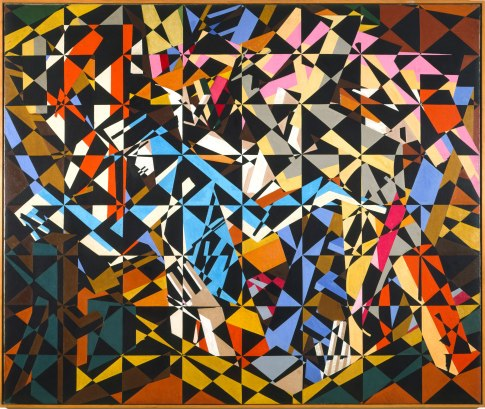 David Bomberg, In the Hold, 1913-14, oil on canvas, 196.2 x 231.1 cm, © Tate, London 2012