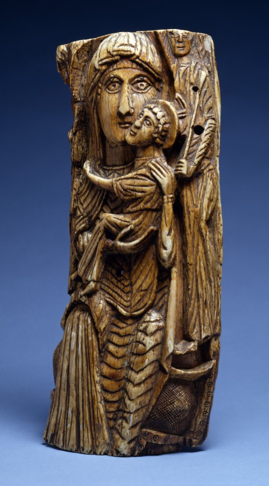 Ivory virgin and Child (7th-8th century)