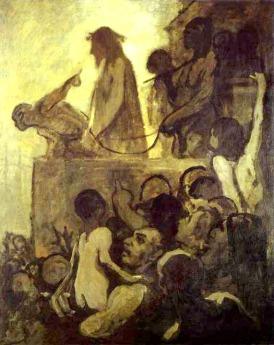 Ecce Homo by Daumier, 1849