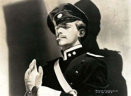 Douglas Fairbanks, Jr. as Rupert of Henzau in the 1937 movie version of The Prisoner of Zenda