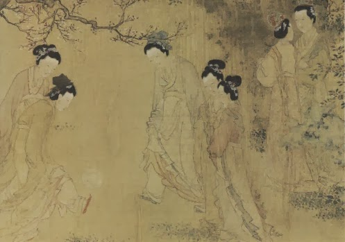 Du Jin (active 1465–1509), Court Ladies in the Inner Palace