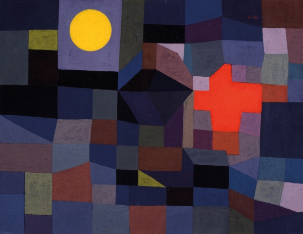 Fire at Full Moon, 1933 Museum Folkwang, Essen, Germany