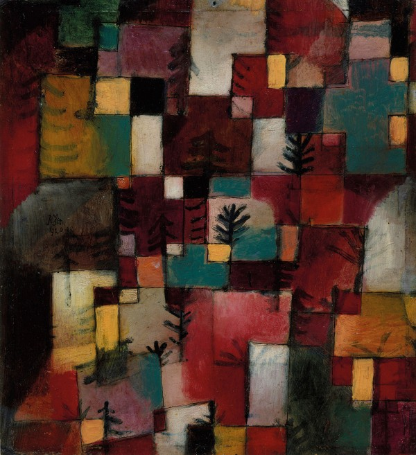 Redgreen and Violet-yellow Rhythms, 1920