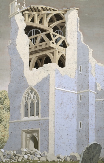 Coggeshall Church, Essex 1940 by John Armstrong. Tate