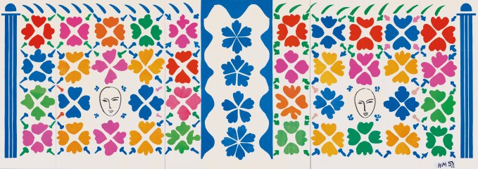 Henri Matisse, Large Composition with Masks 1953. National Gallery of Art, Washington. Ailsa Mellon Bruce Fund 1973.17.1 Digital Image: © National Gallery of Art, Washington. Artwork: © Succession Henri Matisse/DACS 2014