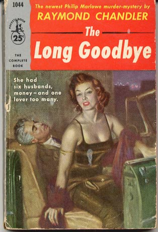 Pulp cover of The Long Goodbye