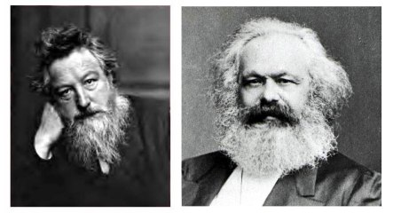 A meeting of great beards!