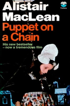 Cover of the 1971 Fontana paperback edition of Puppet on a Chain