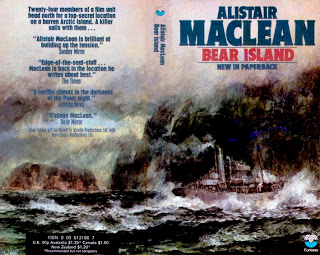 Cover of the 1973 Fontana paperback edition of Bear Island