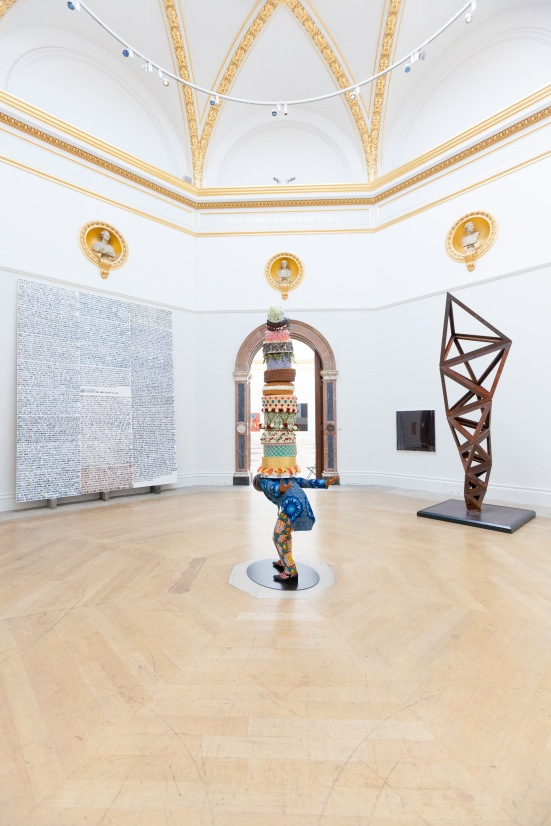 Installation view of Royal Academy Summer Exhibition 2014 © Benedict Johnson