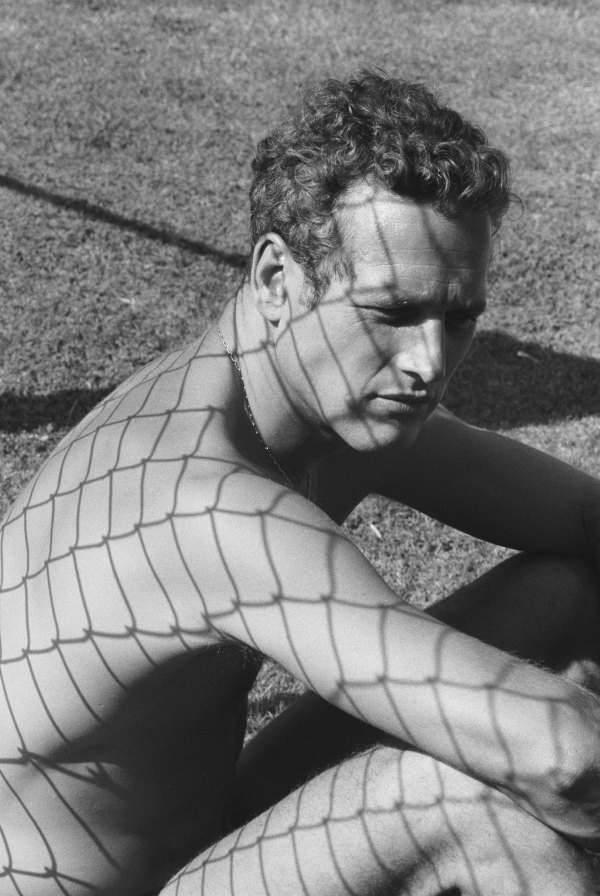Dennis Hopper Paul Newman, 1964 Photograph, 16.64 x 25.02 cm The Hopper Art Trust © Dennis Hopper, courtesy The Hopper Art Trust. www.dennishopper.com