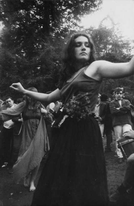 Hippie Girl Dancing (1967) by Dennis Hopper © Dennis Hopper, courtesy The Hopper Art Trust