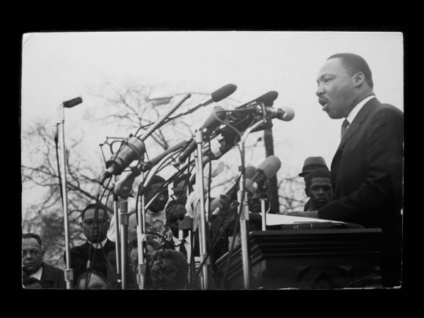 Martin Luther King, Jr. (1965) by Dennis Hopper © Dennis Hopper, courtesy The Hopper Art Trust