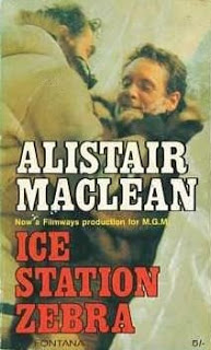 Fontana paperback edition of Ice Station Zebra, price 5 shilling