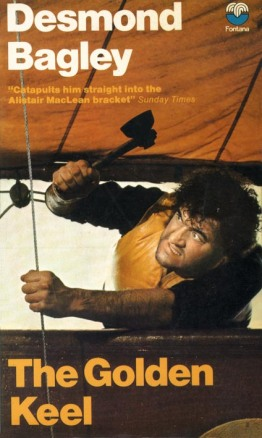 Cover of the 1973 Fontana paperback edition of The Golden Keel