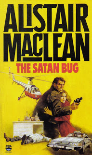 Fontana paperback cover of The Satan Bug