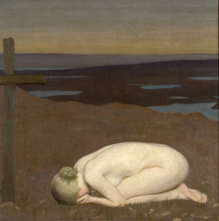 Youth Mourning (1916) by George Clausen © IWM