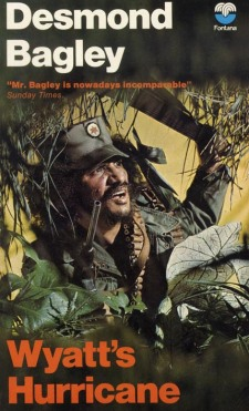 Cover of the early 1970s Fontana paperback edition of Wyatt's Hurricane
