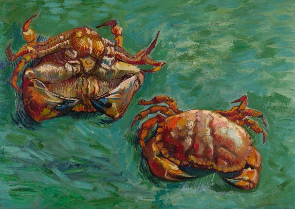 Two Crabs (1889) by Vincent van Gogh © Private Collection