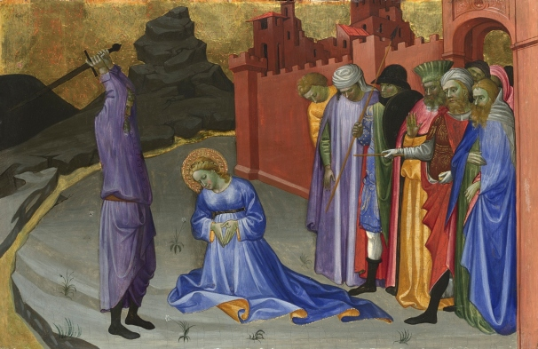 The Beheading of Saint Margaret (?) about 1409 by Gherardo di Jacopo Starnina © The National Gallery, London