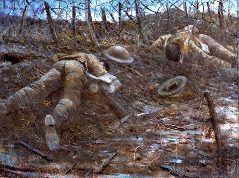 Paths of Glory (1917) by CRW Nevinson © IWM