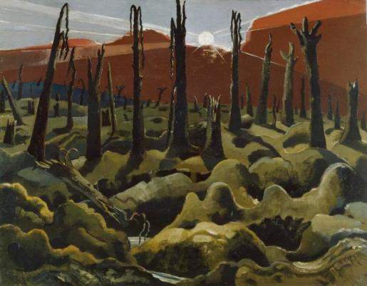 We Are Making a New World (1918) by Paul Nash © IWM