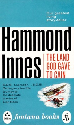 1963 Fontana paperback edition of The Land God Gave to Cain