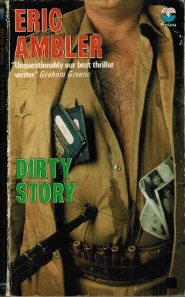 1970s Fontana paperback cover of Dirty Story