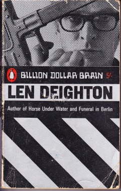 1966 Penguin paperback cover of Billion Dollar Brain
