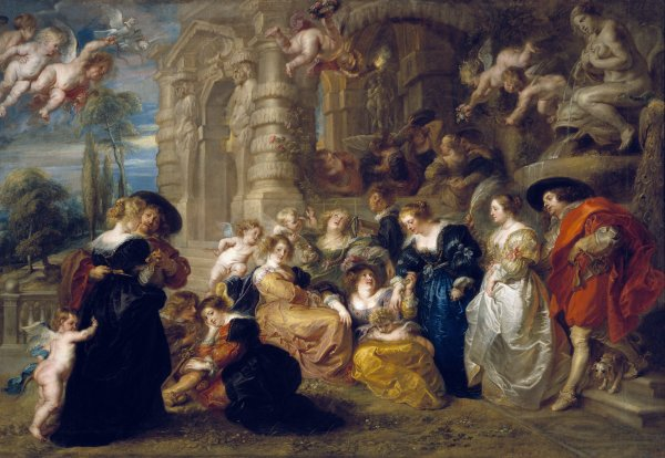 Peter Paul Rubens  The Garden of Love, c. 1633  Oil on canvas, 199 x 286 cm  Museo Nacional del Prado. Madrid  Photo c. Madrid, Museo Nacional del Prado