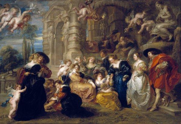 Peter Paul Rubens  The Garden of Love, c. 1633  Oil on canvas, 199 x 286 cm  Museo Nacional del Prado. Madrid  Photo c. Madrid, Museo Nacional del Prado