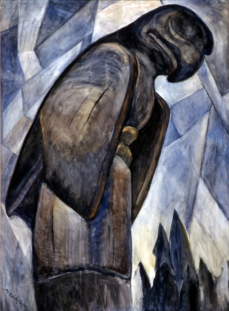 Emily Carr, Big Eagle, Skidigate, B.C. c. 1930, Watercolour on paper, (Art Gallery of Greater Victoria, Donated in memory of Dorothy Plaunt Dyde)